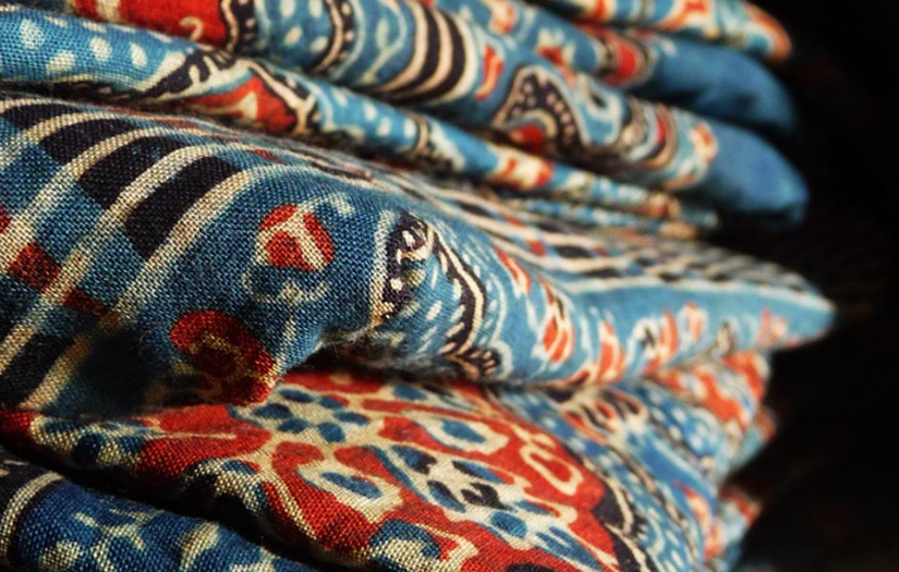 Traditional ajrak from kutch