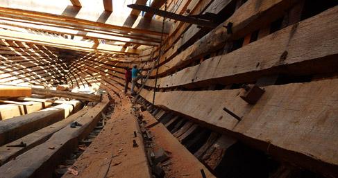 mandvi-boat-making-process