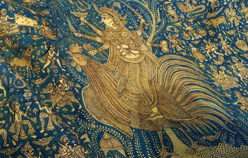 Sacred cloth of the Goddess