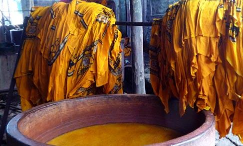 Bhairavgarh Batik Dyeing