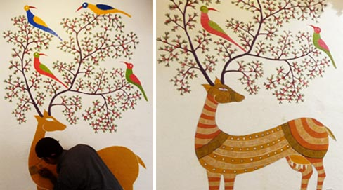 gond_painting_process