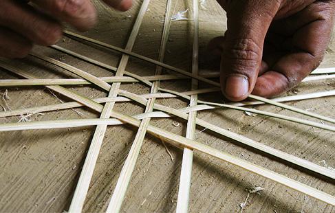 mask-making-bamboo