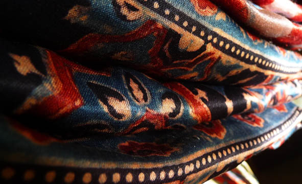 Ajrakh Fabric Gujarat