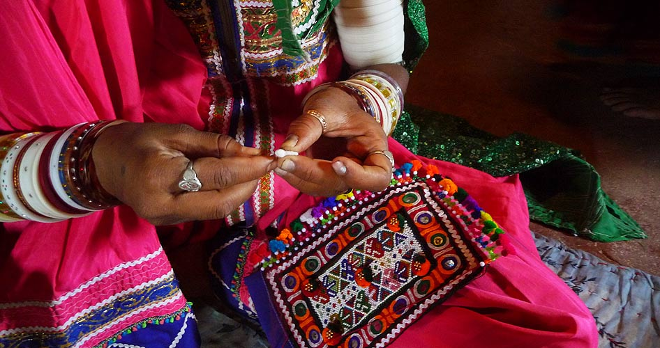 Kutch Embroidery…
