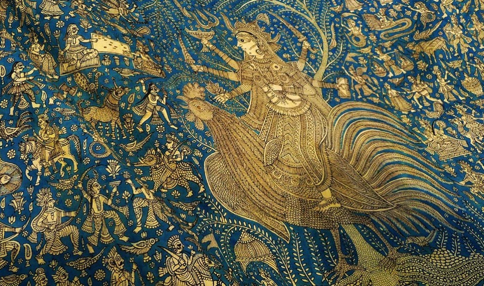 Sacred cloth of the Goddess