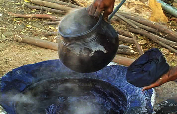 Indigo making process