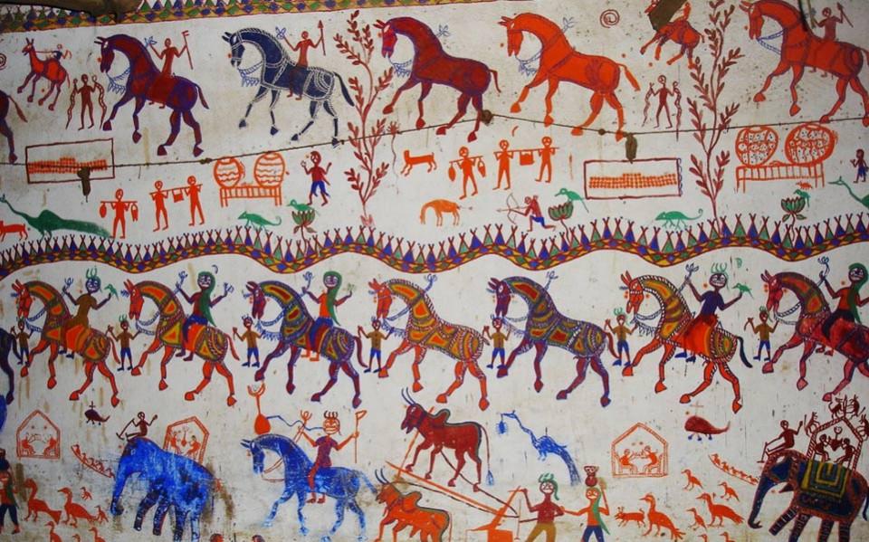 Madhya Pradesh Folk Painting ( मध्यप्रदेश की प्रमुख लोकचित्र कला )