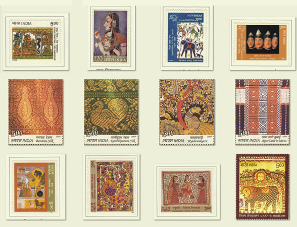 Stamps on Handicrafts
