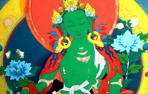 Thangka-paintings