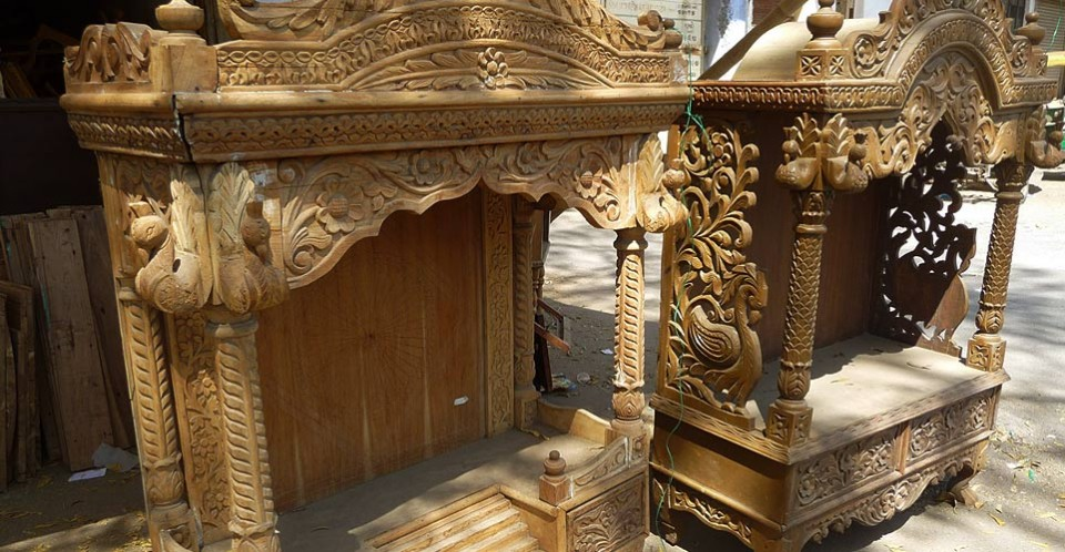 Ahmedabad Wood Carving India Wood Building Materials Gaatha Handicrafts