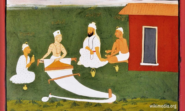 Kabir-the-weaver