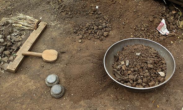 Mud-tile-making-Process