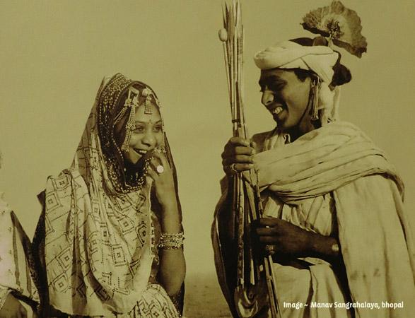 Bhil Couple