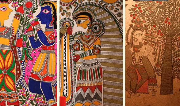 Diffe Types Of Madhubani