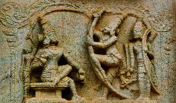 Swayamwar--Lord-Rama-broke-the-famous-bow-of-Shiva