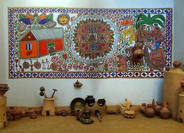 madhubani-on-wall