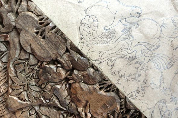 Process-carving