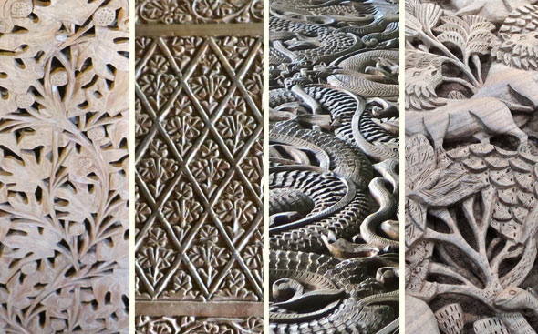 Types-of-walnut-wood-carving
