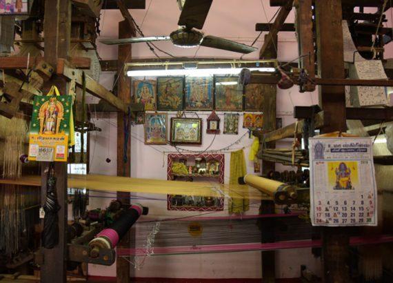 dindigul silk weaver tamil nadu