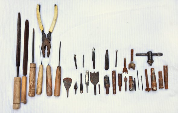 bone carving craft tools