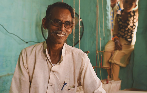 Isa Ram-Craftsmen Pattu Weaving