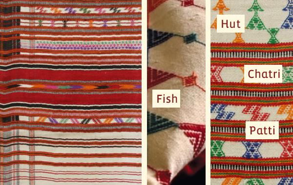 Pattu weaving motif