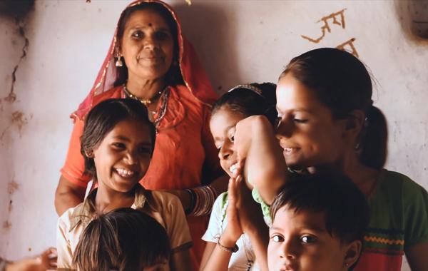 Pattu weavers family