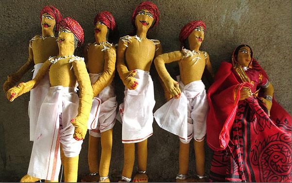 Jhabua dolls process