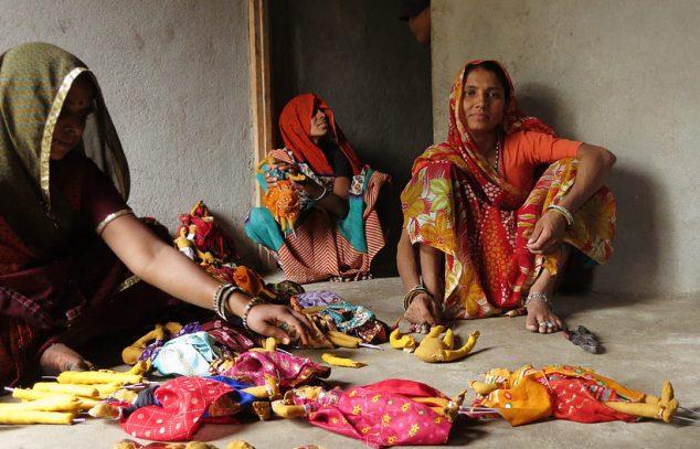Doll makers, Jhabua, Madhya Pradesh
