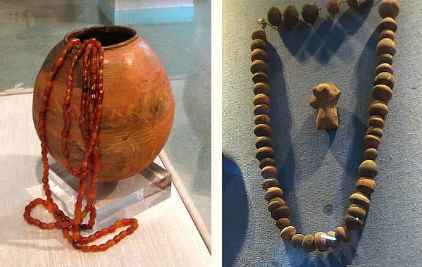 Dholavira bead jewelry