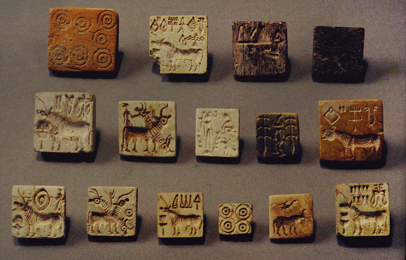 Harappa seal and jewelry craft