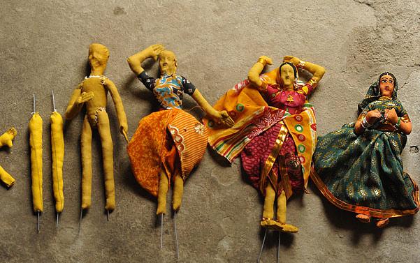 Jhabua dolls making process