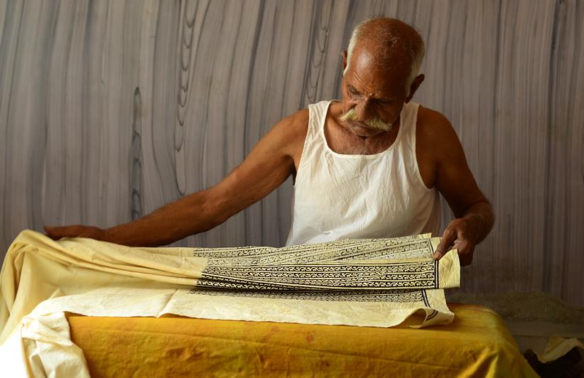 Traditional Bagru Artisan