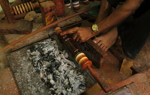 lacquer craft process