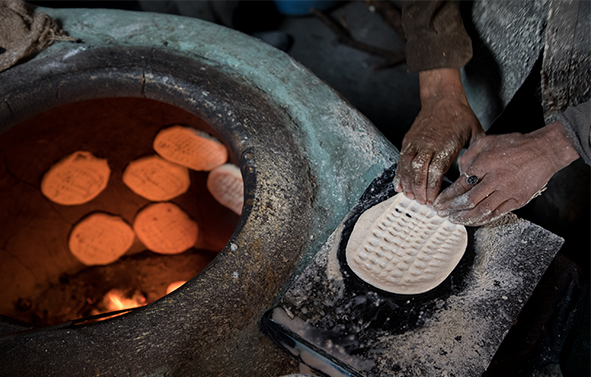 Srinagr Breads making process