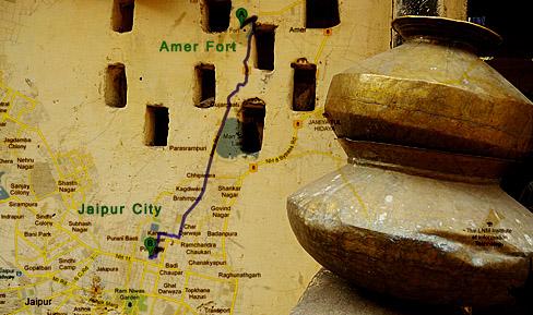 Amer fort - Thatero ke gali - Jaipur