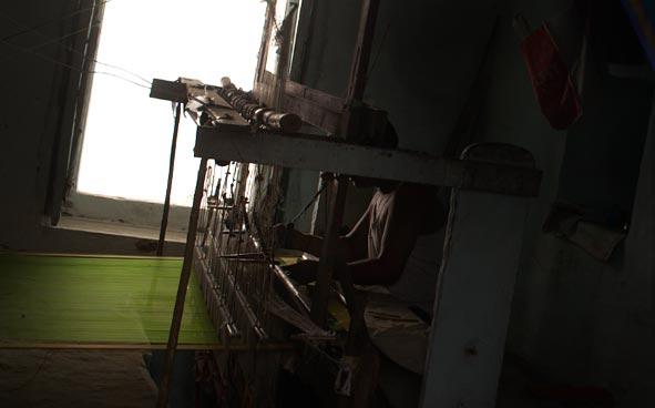 Banaras-weaving-loom