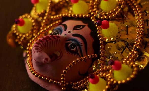 Chau-mask-ganesha