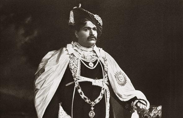 Maharaja-of-kolhapur