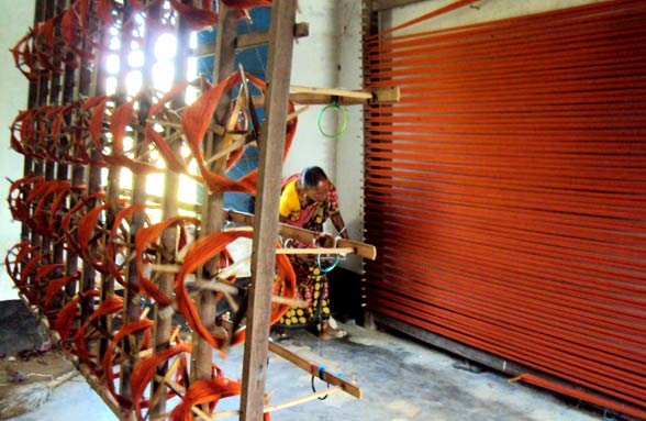 Process-bangal-weaving