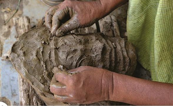 chau-mask-mould-making-process