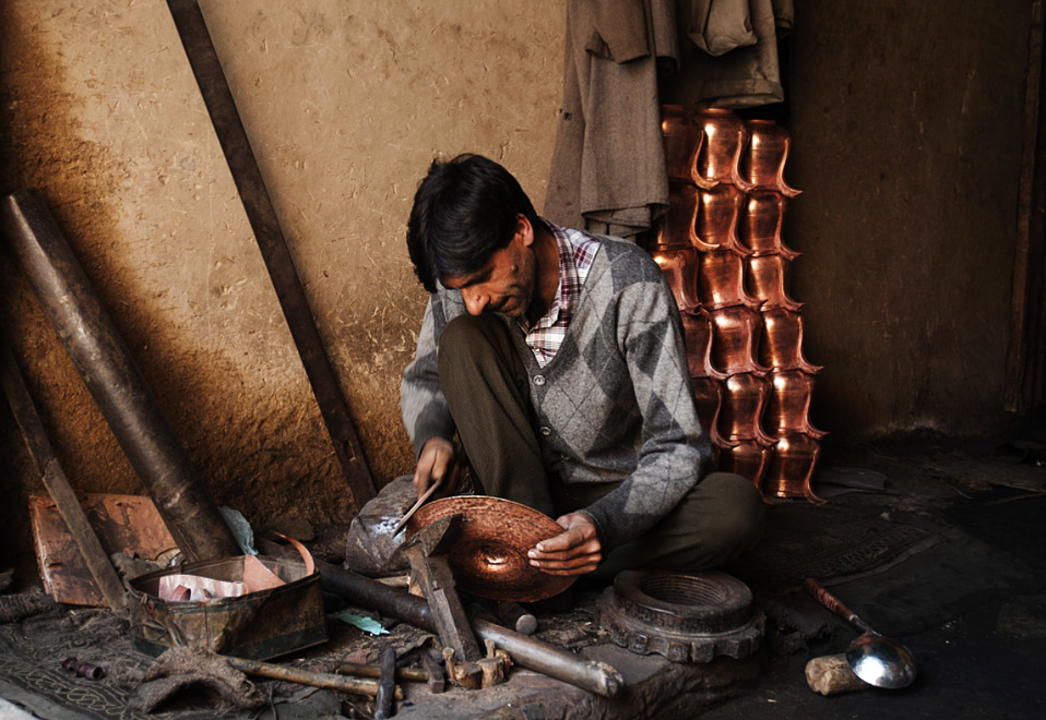 A coppersmith's strokes…