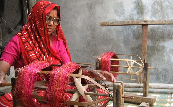 ikat-saree-making-process-gujart