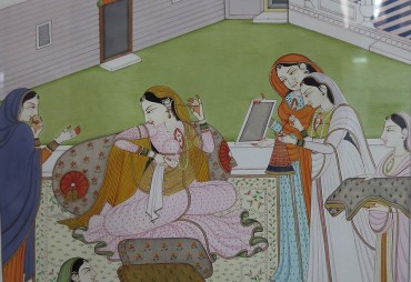When Miniature went the Mughal way…