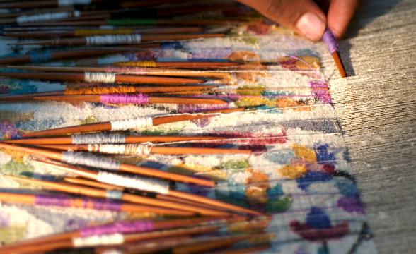 kani-shawl-weaving-process