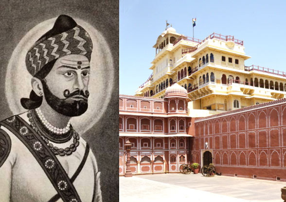 king-of-jaipur-wearing-pagdi