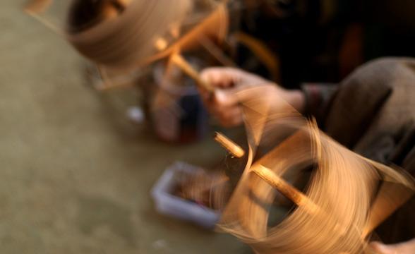 spining-silk